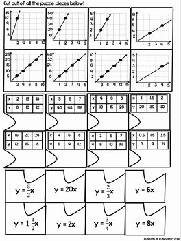 Constant Of Proportionality Worksheet Best Of Constant Of Proportionality Puzzle Words Tables Graphs
