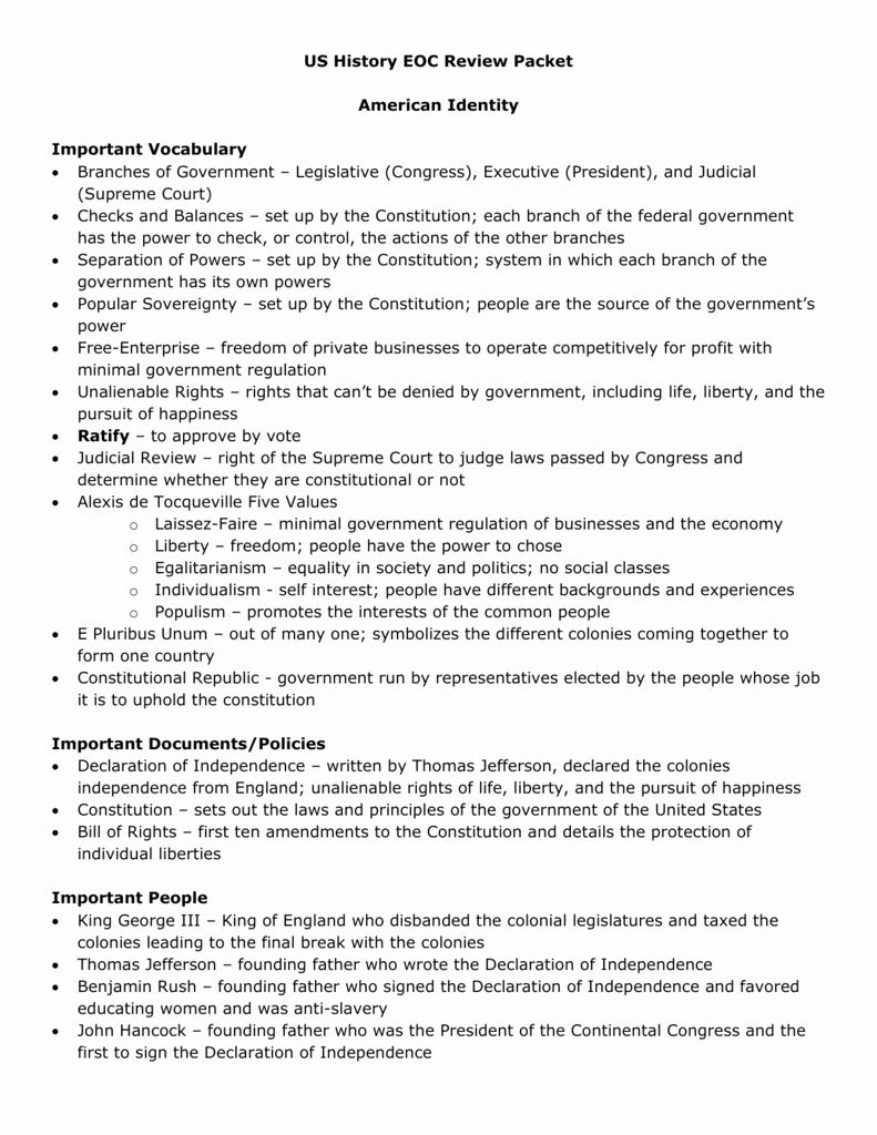 Constitutional Principles Worksheet Answers Luxury Pursuit Happiness Worksheet Answers University
