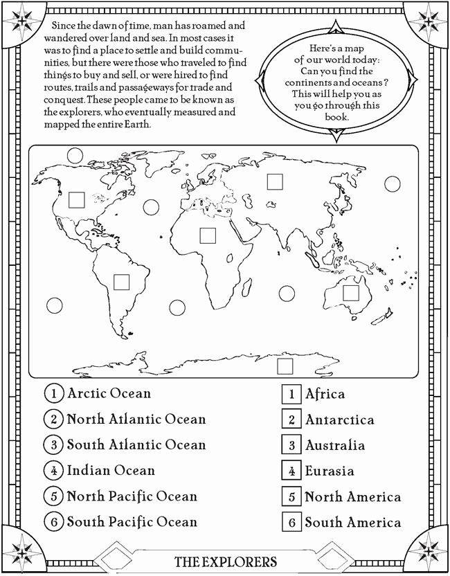 Continents and Oceans Worksheet Beautiful 25 Best Ideas About Continents and Oceans On Pinterest