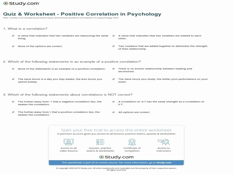 Correlation Vs Causation Worksheet Awesome Correlation Vs Causation Worksheet Free Printable Worksheets