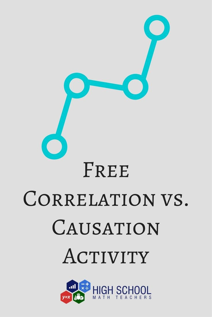 Correlation Vs Causation Worksheet Best Of Best 25 Correlation Graph Ideas On Pinterest