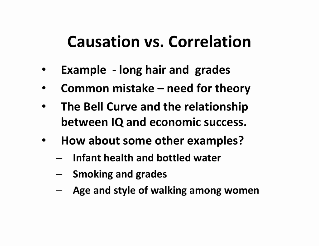Correlation Vs Causation Worksheet Elegant Causation Vs Correlation