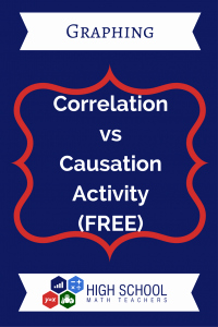 Correlation Vs Causation Worksheet Inspirational Correlation Vs Causation Activity Free