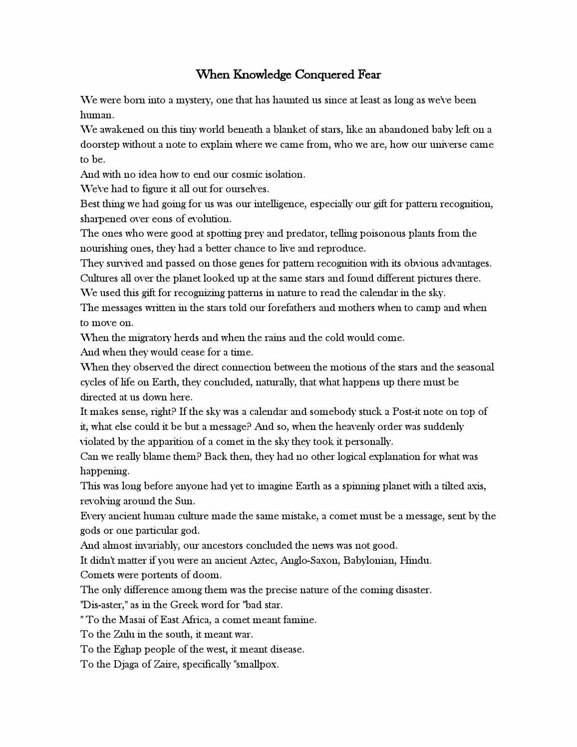 Cosmos Episode 1 Worksheet Answers New Cosmos Episode 2 Worksheet Answer Key