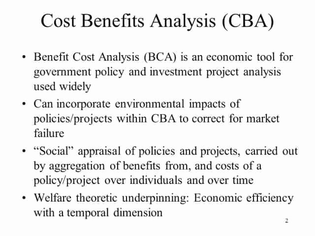Cost Benefit Analysis Worksheet Inspirational 5 Cost Benefit Analysis Templates Excel Pdf formats