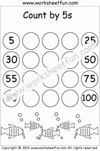 Count by 5s Worksheet Awesome 29 Best Images About Skip Counting On Pinterest