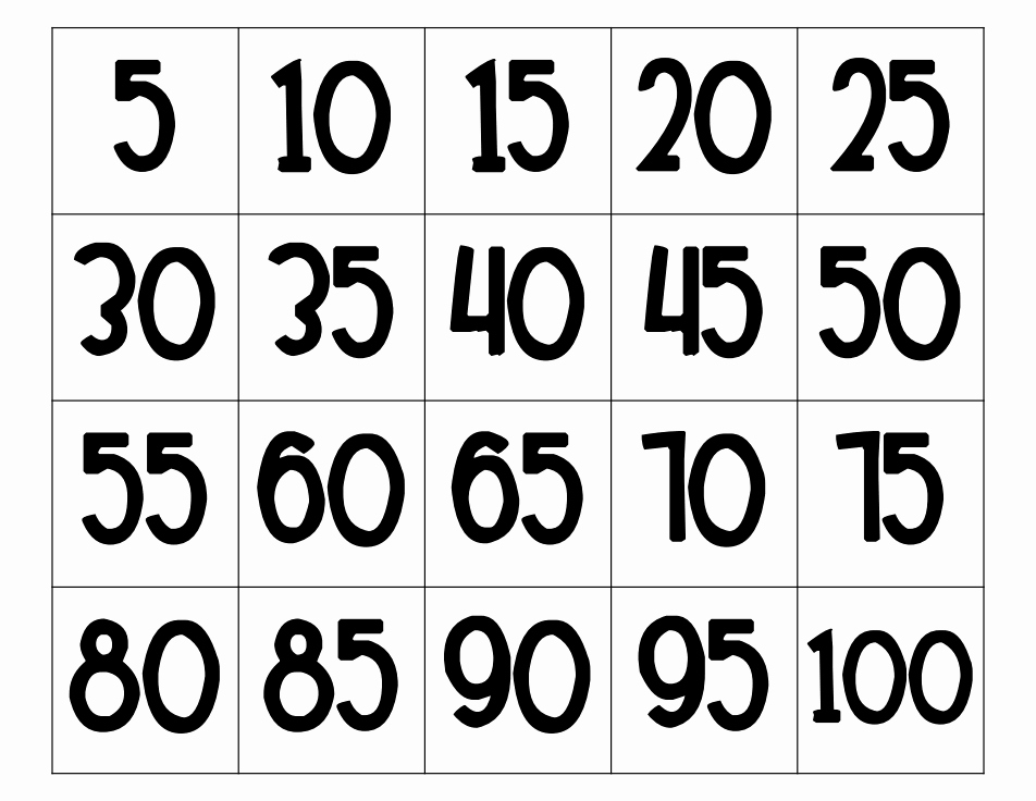 Count by 5s Worksheet Fresh Counting by Fives Book & Worksheet Pdf