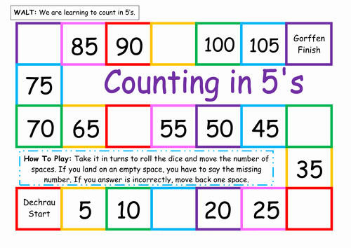 Count by 5s Worksheet New Counting In 5s by Twinklestar68