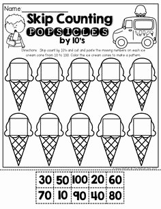 Counting by 10s Worksheet Beautiful 1000 Images About Skip Counting On Pinterest