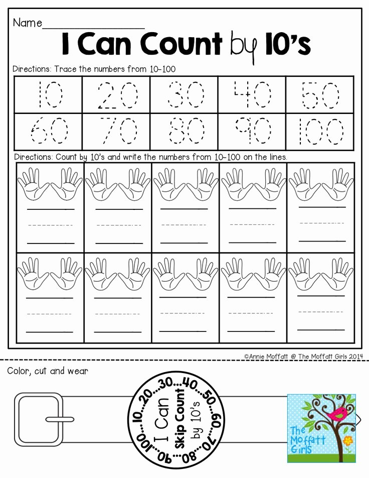 Counting by 10s Worksheet Elegant 17 Best Images About Counting by 2 S 5 S 10 S Etc On