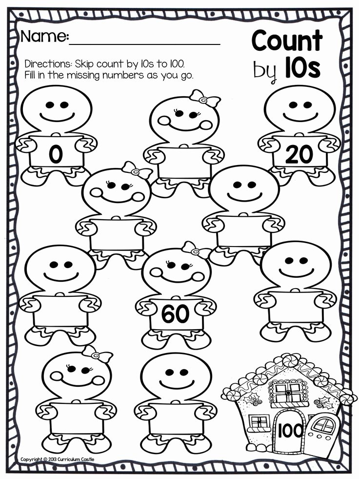 Counting by 10s Worksheet New 114 Best Images About Skip Counting On Pinterest