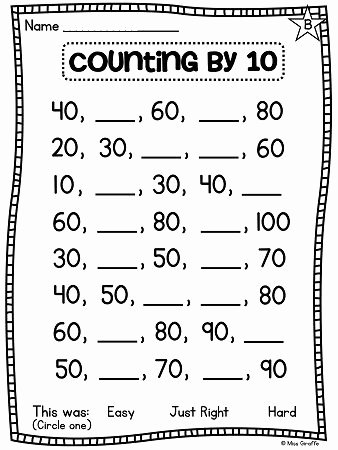Counting by 10s Worksheet New Pinterest • the World's Catalog Of Ideas