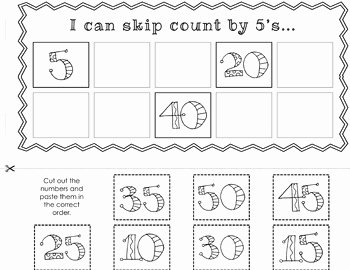 Counting by 5s Worksheet Lovely Free Skip Counting Activities by Sam nowak
