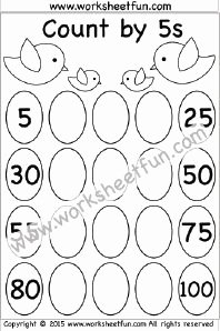 Counting In 5s Worksheet Unique 17 Best Images About Maths Skip Counting On Pinterest