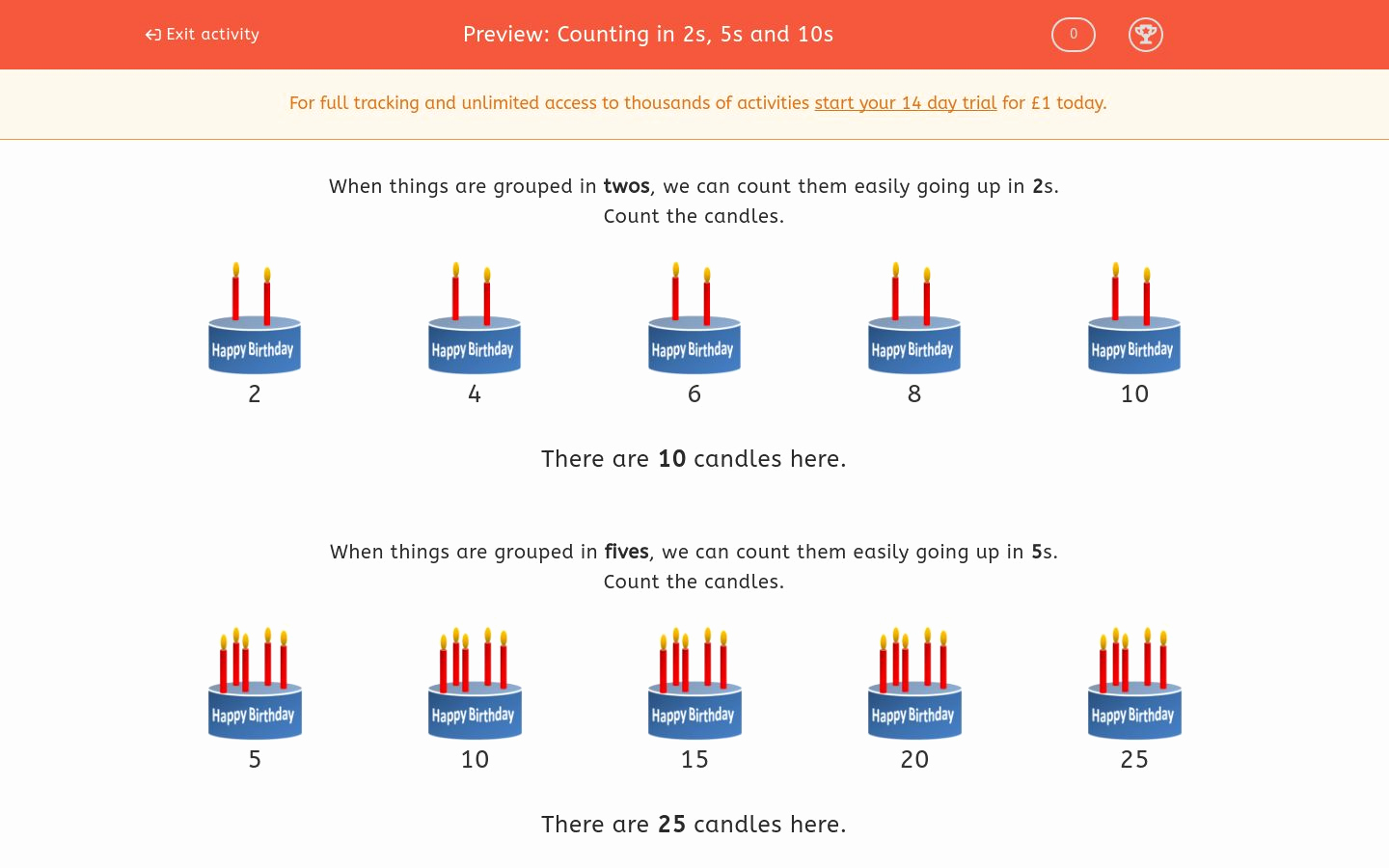 Counting In 5s Worksheet Unique Counting In 2s 5s and 10s Worksheet Edplace