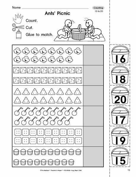 Counting to 20 Worksheet Best Of 25 Best Ideas About Counting to 20 On Pinterest