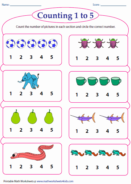 Counting to 20 Worksheet Best Of Counting Worksheets