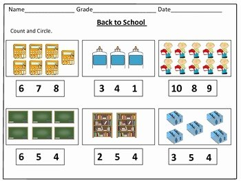 Counting to 20 Worksheet Elegant Back to School Counting Worksheets 1 20 by Kids