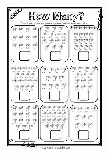Counting to 20 Worksheet Inspirational How Many Numbers 10 20 Ten to Twenty Count and Write