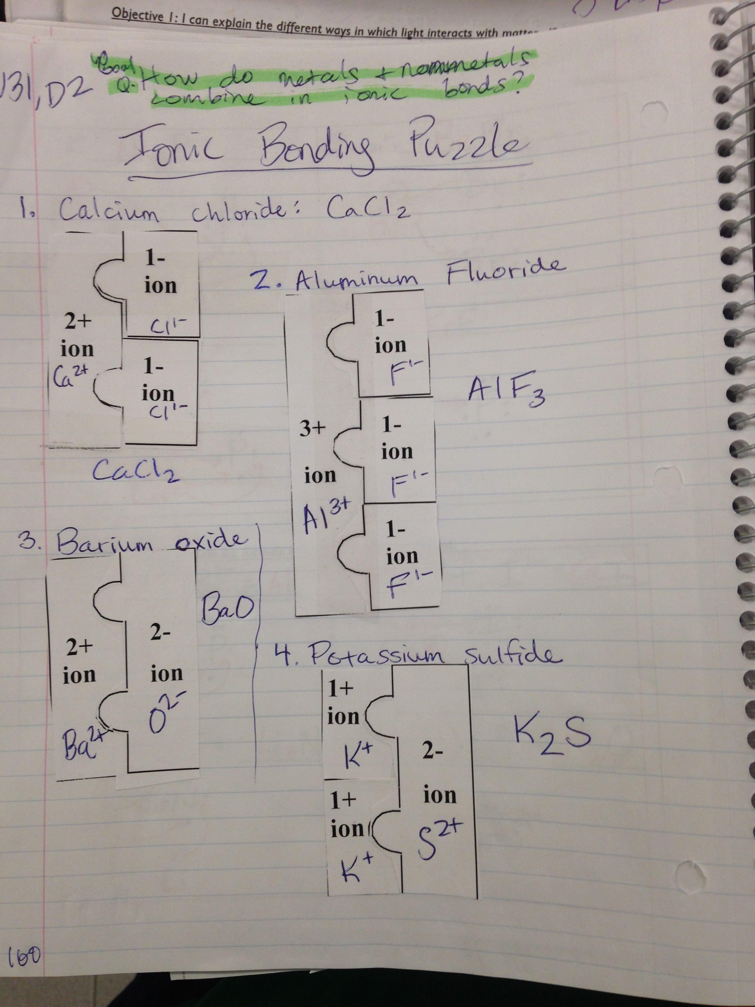 Covalent Bonding Worksheet Answer Key Lovely Chemical Bonding Worksheet Answer Key
