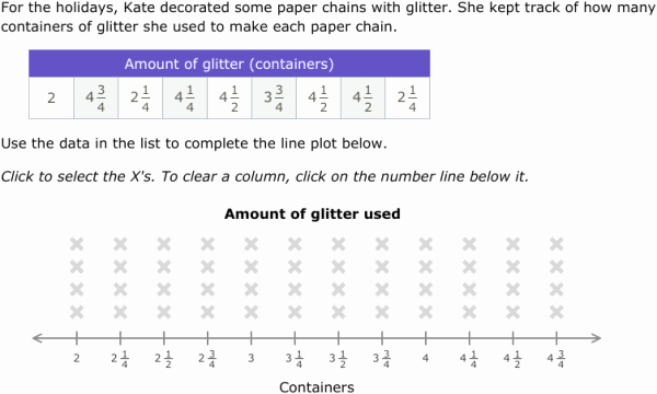 Create A Line Plot Worksheet Inspirational Ixl Create and Interpret Line Plots with Fractions