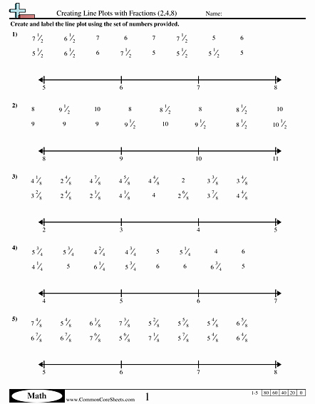 Create A Line Plot Worksheet Luxury Line Plot Worksheets