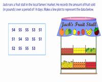 Create A Line Plot Worksheet New Line Plot Worksheets