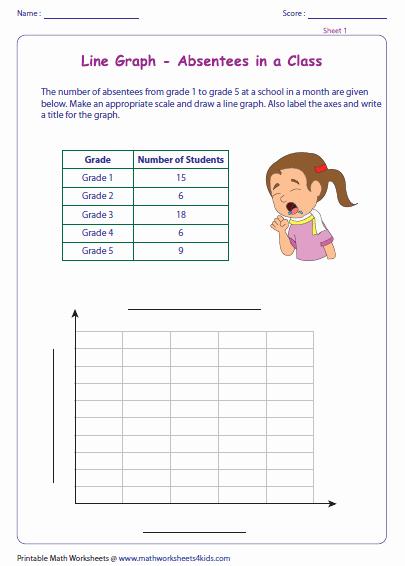 Create A Line Plot Worksheet Unique Line Graph Worksheets