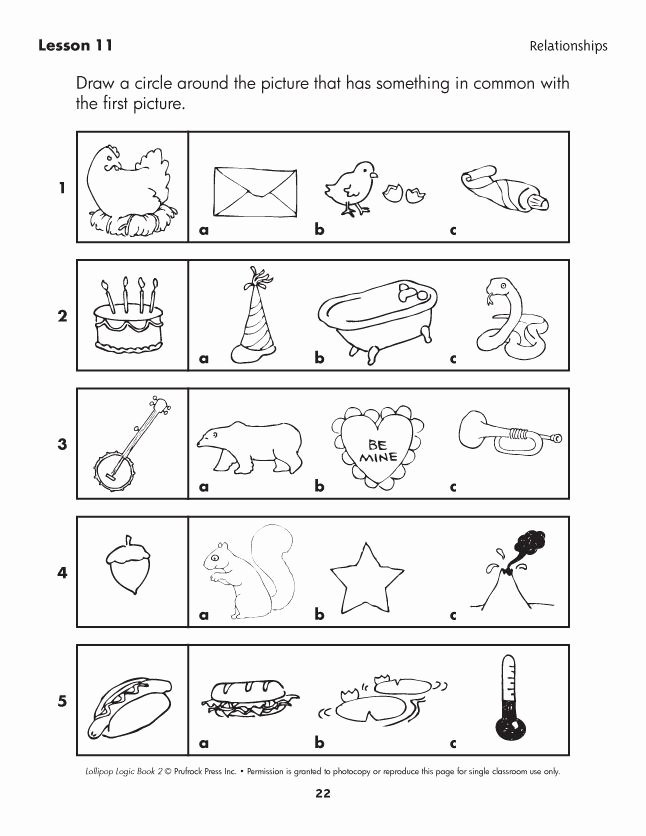 Critical Thinking Skills Worksheet Awesome Lollipop Logic Critical Thinking Activities
