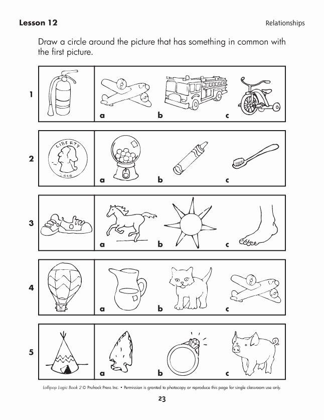 Critical Thinking Skills Worksheet Beautiful Lollipop Logic Critical Thinking Activities