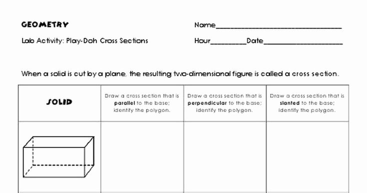 Cross Section Worksheet 7th Grade Elegant 60 Best 7th Grade Math Mon Core Images On