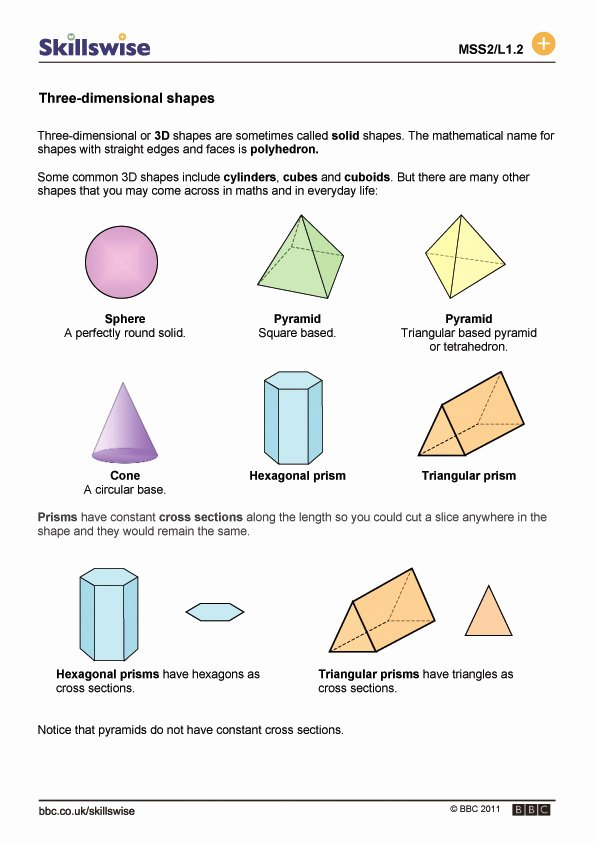 Cross Section Worksheet 7th Grade Elegant Slicing 3d Shapes Worksheet 7th Grade the Best Worksheets