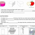 Cross Section Worksheet 7th Grade Unique Cross Sections Powerpoint and Worksheet 7 G A 3