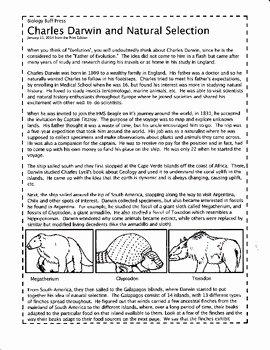 Darwin Natural Selection Worksheet Lovely Tangstar Science Charles Darwin Worksheet Tangstar Best