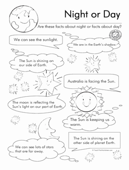 Day and Night Worksheet Beautiful Teach This Worksheets Create and Customise Your Own