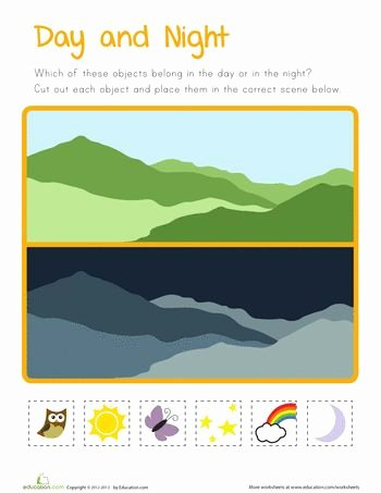Day and Night Worksheet Fresh 87 Best Images About Day & Night On Pinterest