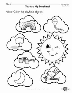 Day and Night Worksheet Fresh Day and Night for Kindergarten Day and Night