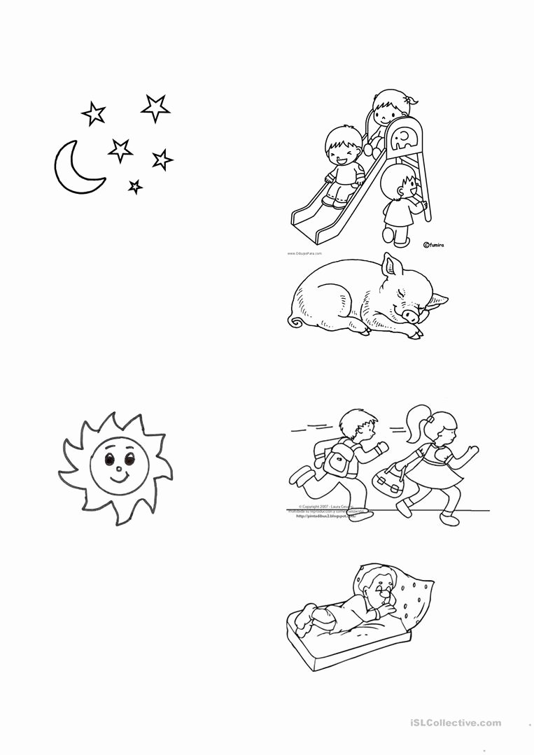 Day and Night Worksheet Lovely Night and Day Worksheet Free Esl Printable Worksheets