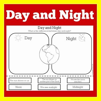Day and Night Worksheet Luxury Day and Night Worksheet Day and Night Science