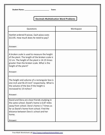 Decimal Word Problems Worksheet Luxury Deck Of Cards Worksheet 2 Math Worksheets for Kids