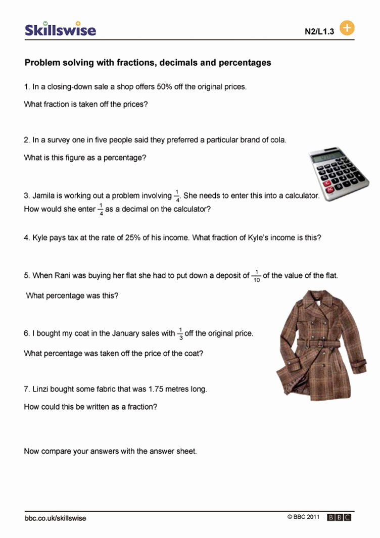 Decimal Word Problems Worksheet Unique Printable touch Math Maths Worksheets Ks2 Collection