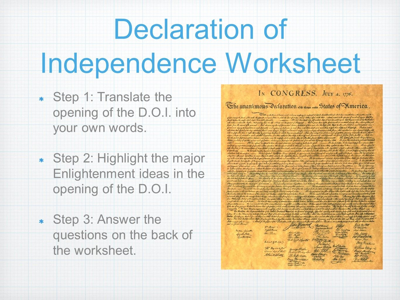 Declaration Of Independence Worksheet Answers Fresh John Locke and the Declaration Independence Worksheet
