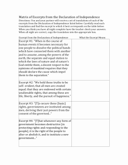 Declaration Of Independence Worksheet Answers Luxury Studylib Essys Homework Help Flashcards Research