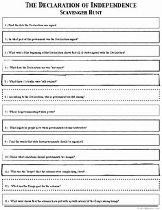 Declaration Of Independence Worksheet Lovely Bill Be Es Law Flowchart Worksheet
