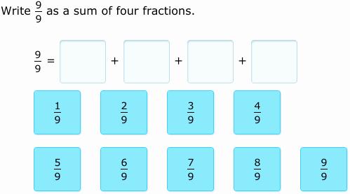 Decomposing Fractions 4th Grade Worksheet Best Of Ixl De Pose Fractions