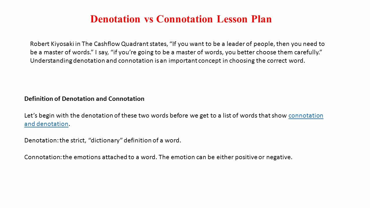 Denotation and Connotation Worksheet Unique Denotation and Connotation Worksheet