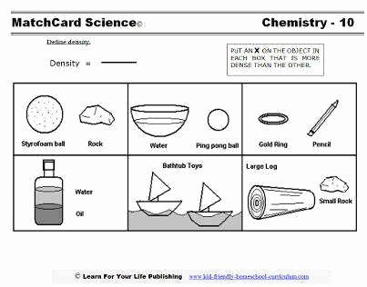 Density Worksheet Middle School Beautiful Density Worksheet Middle School