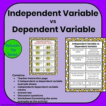 Dependent and Independent Variables Worksheet Luxury Best 25 Dependent and Independent Variables Ideas On
