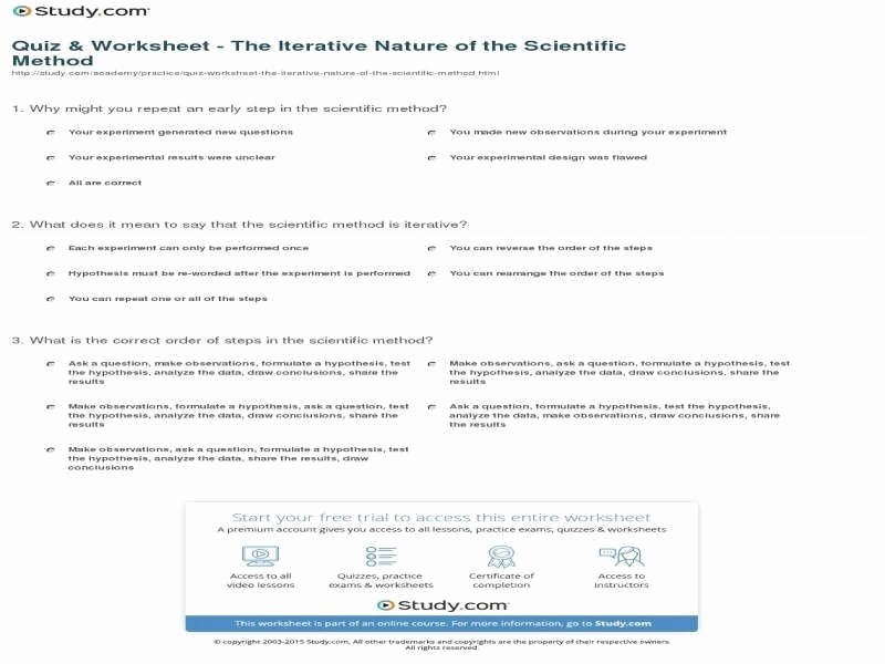 Designing An Experiment Worksheet Awesome Experimental Design Worksheet
