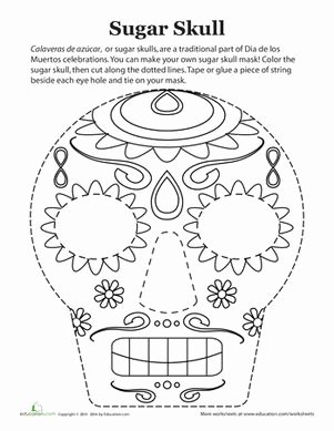 Dia De Los Muertos Worksheet Beautiful 21 Best Dia De Los Muertos Resources Images On Pinterest